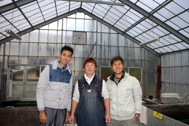 Very Friendly & Smiley Kazuyoshi Hiroi San @ Hiroi Koi Farm