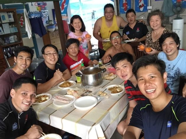 Marugen Koi Farm Family