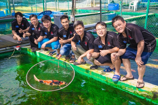 Marugen Fish Farm Group Photo